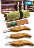 BeaverCraft S15 Whittling Wood Carving Kit - Wood Carving Tools Set - Chip Carving Knife Kit - Whittling Knife Set…