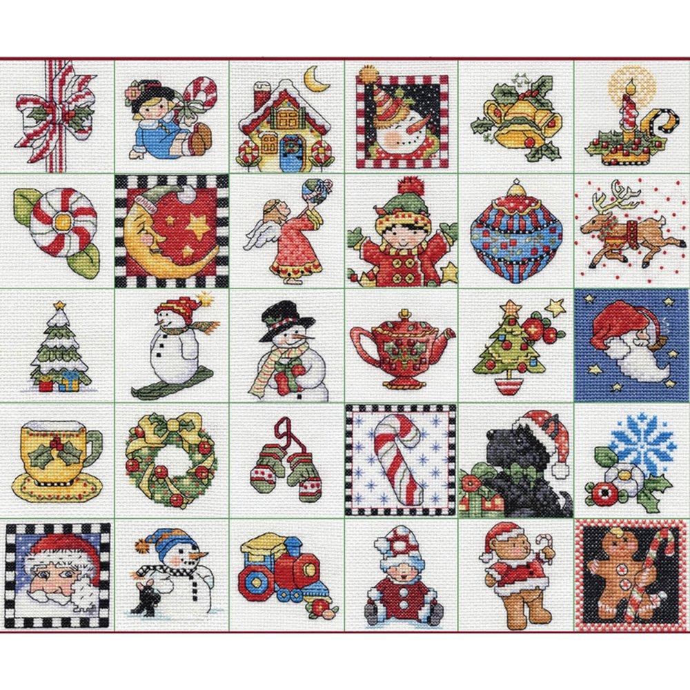 Bucilla Counted Cross Stitch Ornament Kit, 86138 Mary Engelbreit by Bucilla
