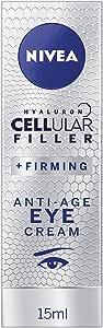 NIVEA Cellular Filler + Firming Anti-Age Moisturising Eye Cream with Hyaluronic Acid, Magnolia Extract & Creatine 15ml