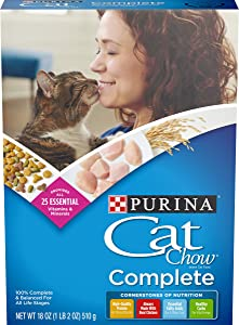 Purina Cat Chow Complete Formula Dry Cat Food 18oz