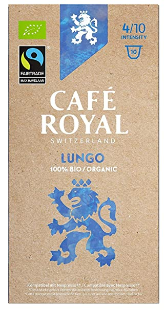Café Royal Lungo Bio Organic 100 cápsulas compatibles con ...