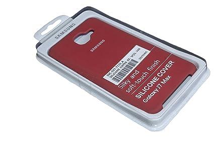promo code 9942a a8f60 SAMSUNG J7MAX BACK COVER ,SAMSUNG J7MAX RED SILICONE: Amazon.in ...