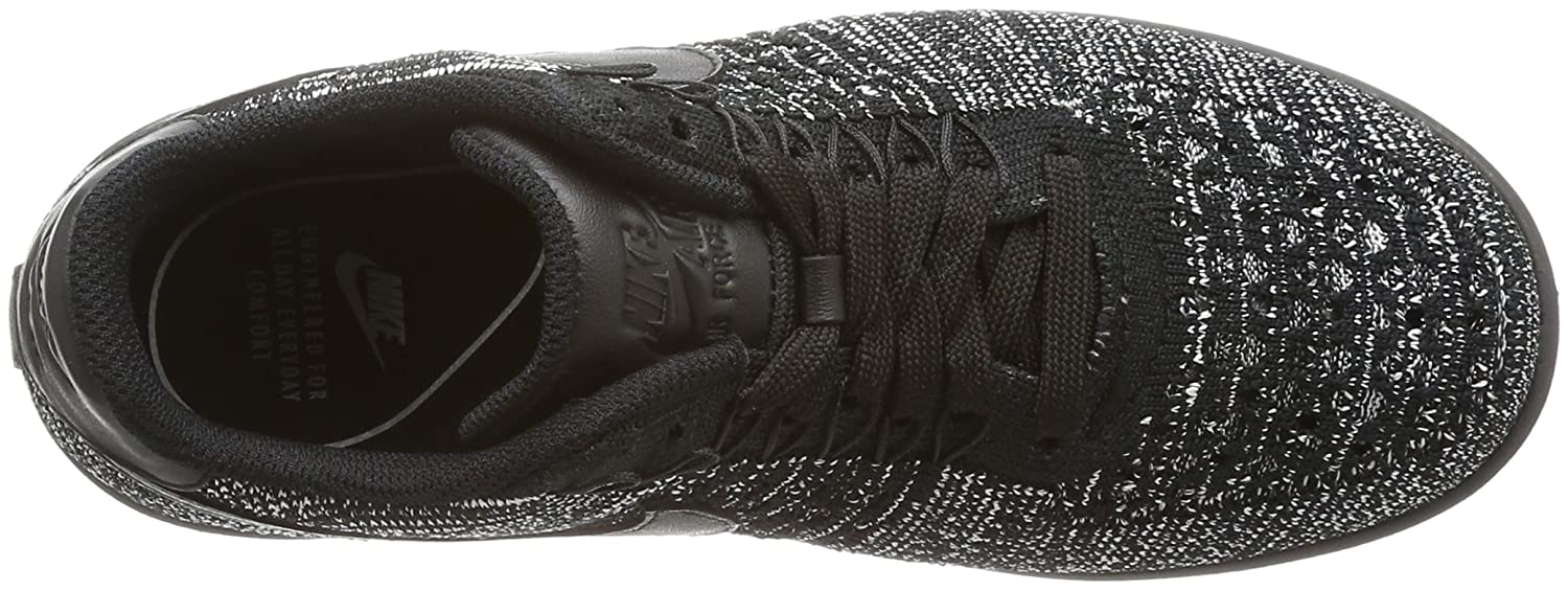 Nike - Air Force 1 Flyknit Low - 820256007 - Color: Gris-Negro - Size: 37.5 nAVauyFHR