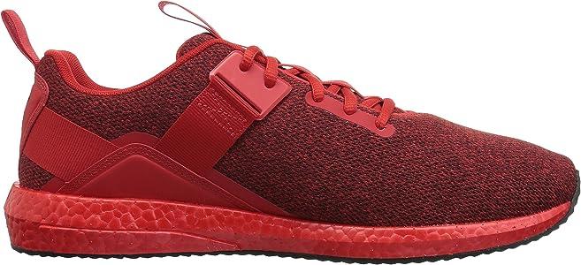 f0691398cec337 Men s Mega NRGY Street Sneaker. PUMA Men s Mega NRGY Street Sneaker high  Risk red Black ...