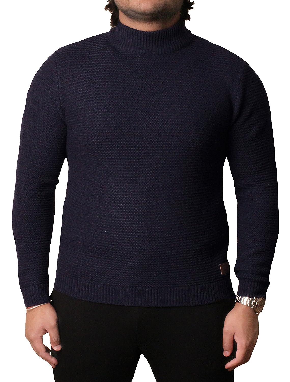 Threadbare Mens Turtle Neck Sweater Top Pullover Jumper Wool Mix VORDERMAN