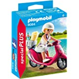 Playmobil 9084 - Ragazza con Scooter, Multicolore