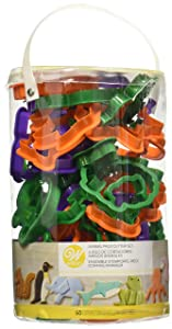 Wilton Animal Cookie Cutter Set, 50-Piece
