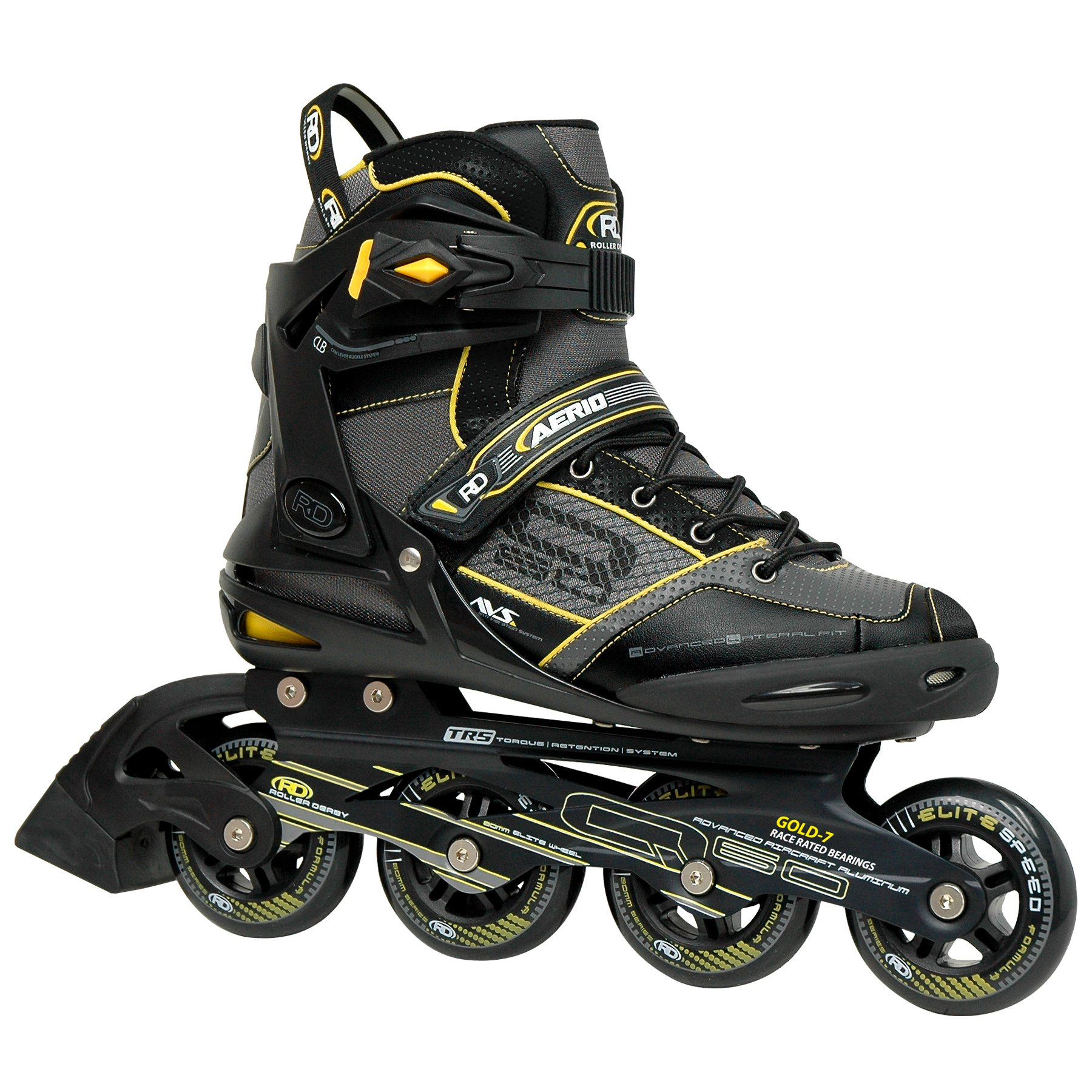 Roller Derby AERIO Q-60 Men's Inline Skates, 5