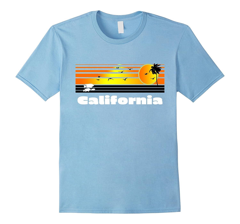 California Retro T-Shirt - CA Surf Apparel & Vintage Tee's-Art