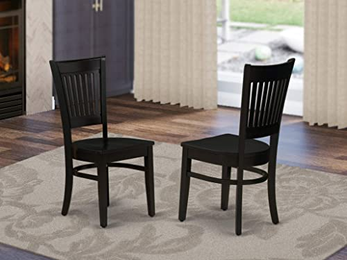 East West Furniture Vancouver Dining Wood Chair
