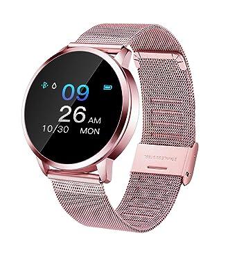 Smartwatch, Smartwatch Impermeabile Donna IP67, Smartwatch Sportivo Orologio Sportivo Cardiofrequenzimetro da Polso Monitoraggio Fitness Tracker