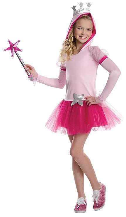 Amazon Com Rubies Wizard Of Oz Glinda The Good Witch Hoodie Dress