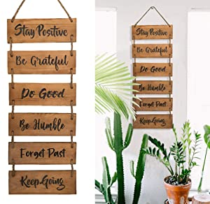Inspirational Wooden Home Wall Decor Hanging Vertical Wall Decor Farmhouse Wooden Sign