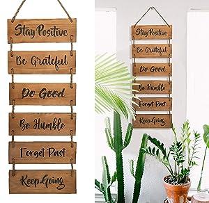 Inspirational Wooden Home Wall Decor Hanging Vertical Wall Decor Farmhouse Wooden Sign