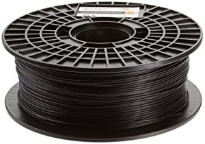 CoLiDo 3D Printer Filament PLA 1.75mm Spool - (1 kg, Black)