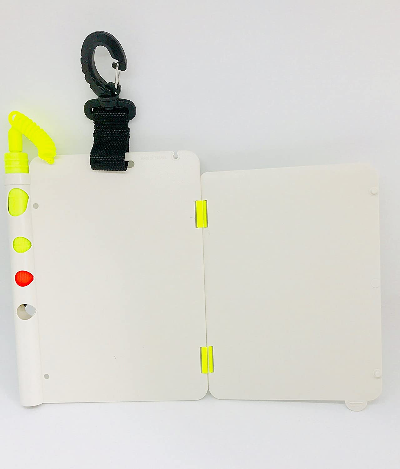 Scuba Diving 3 Page Underwater Writing Slates With Pencil And Clip