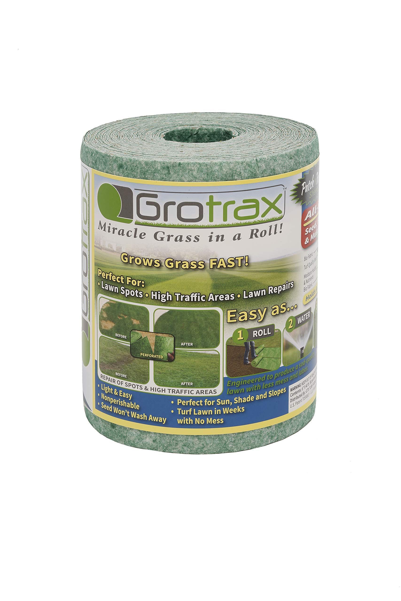 Grotrax Patch n' Repair Year Round Green 20 Square Foot roll Grass mat