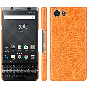 Blackberry keyone móvil, hual Color Bronce [Ultra Slim] Premium ...
