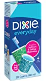 Dixie Everyday Disposable Bath Cups, pack of 200 Count, 3 Ounce Paper Cups; Designs May Vary
