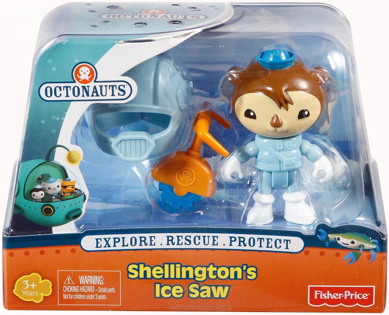 Original FisherPrice Octonauts Creature Pack Shellington and Ice Saw