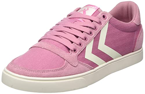 newest collection ffd5f fea61 Hummel Women's's Slimmer Stadil Hb Low Top Sneakers, Pink ...