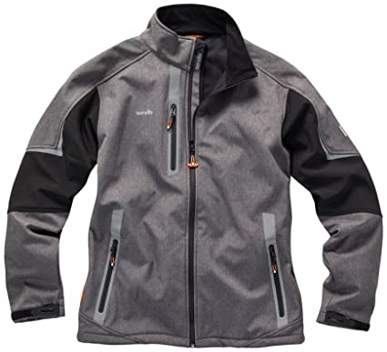 Scruffs Pro - Chaqueta impermeable para hombre (chaqueta de ...