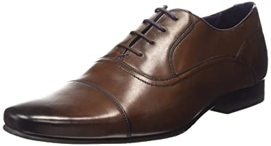 5f048e2d9a08c9 Amazon.com  Ted Baker Men s Rogrr 2 Leather Lace Up Formal Shoe ...