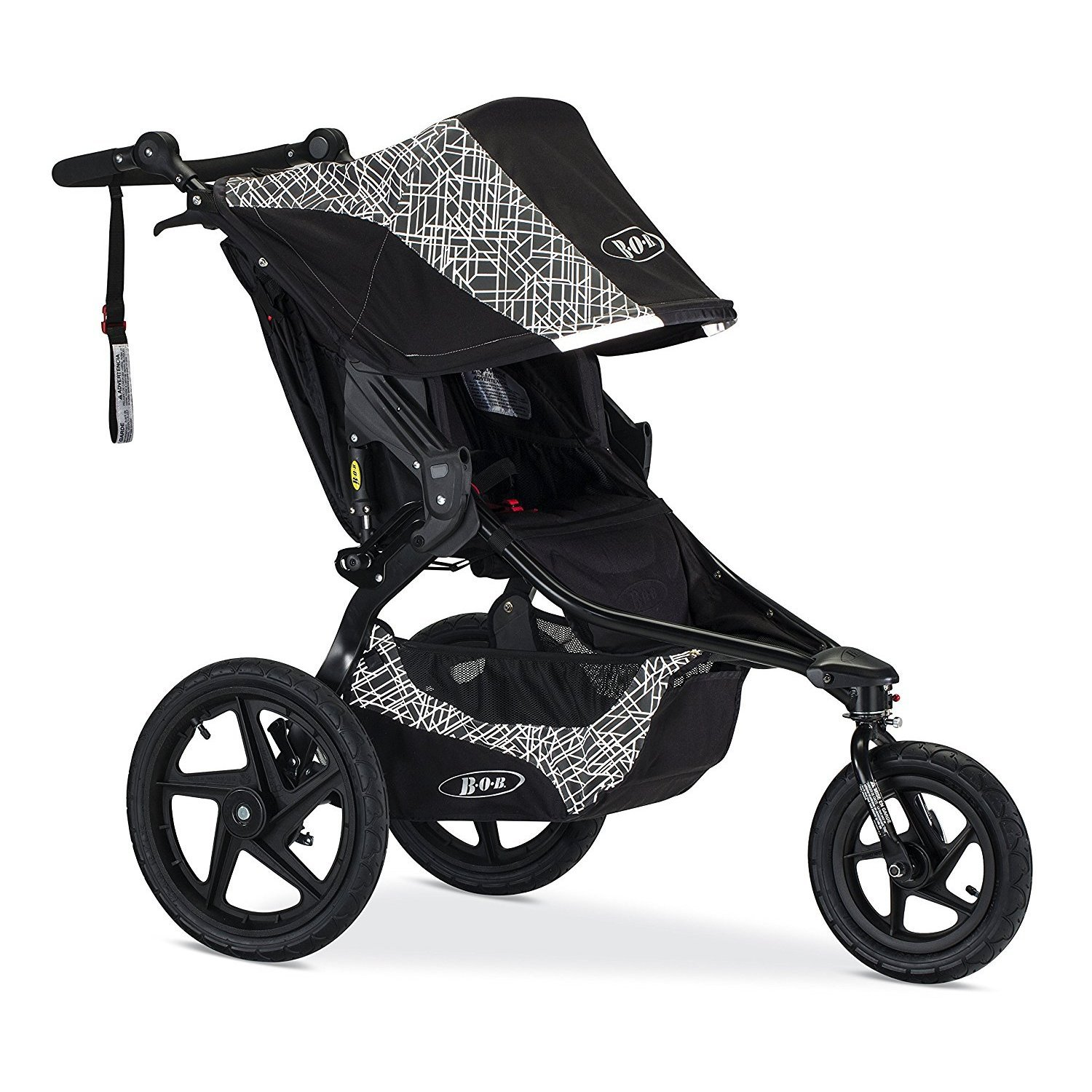 BOB Revolution Flex Jogging Stroller, Black U611856