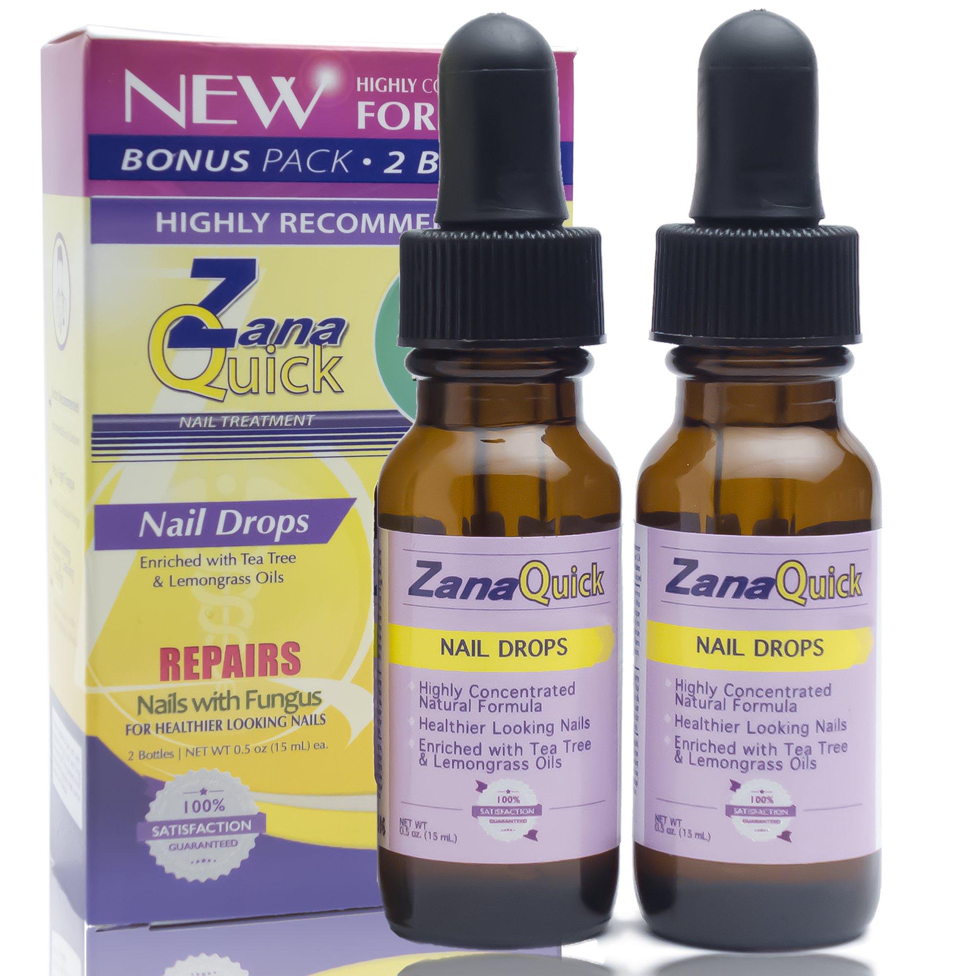 Zana Quick Antifungal Nail Drops Strong Toenail Fungus