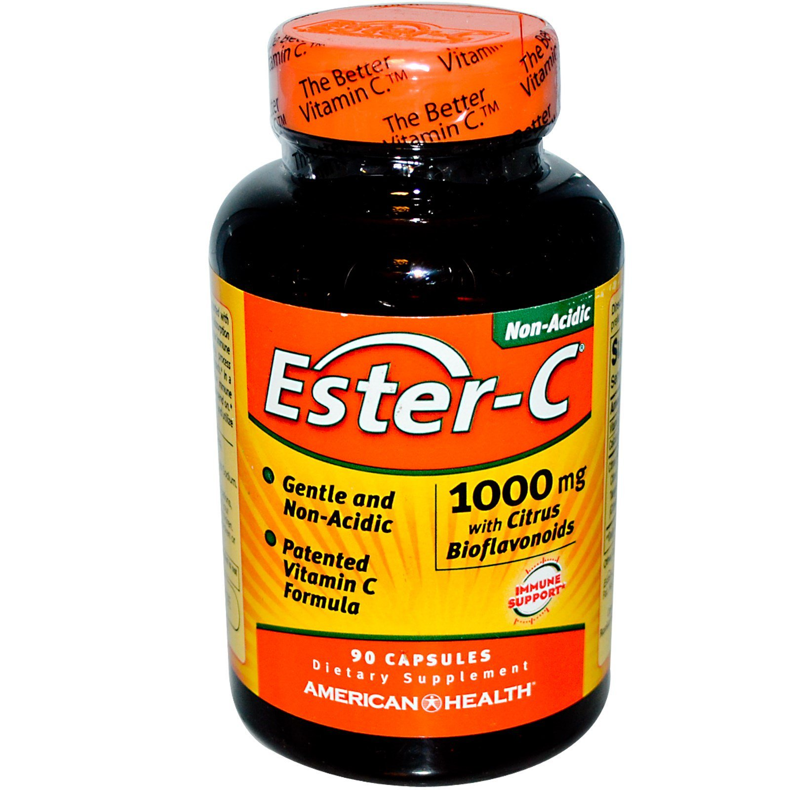 Ester-C 1000 mg with Citrus Bioflavonoids American Health Products 90 Caps (Pack of 2) by American Health