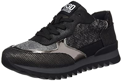 Womens 041360 Trainers, Lead BASS3D