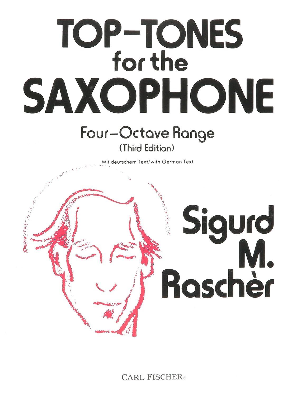 Carl Fischer Top-Tones For The Saxophone