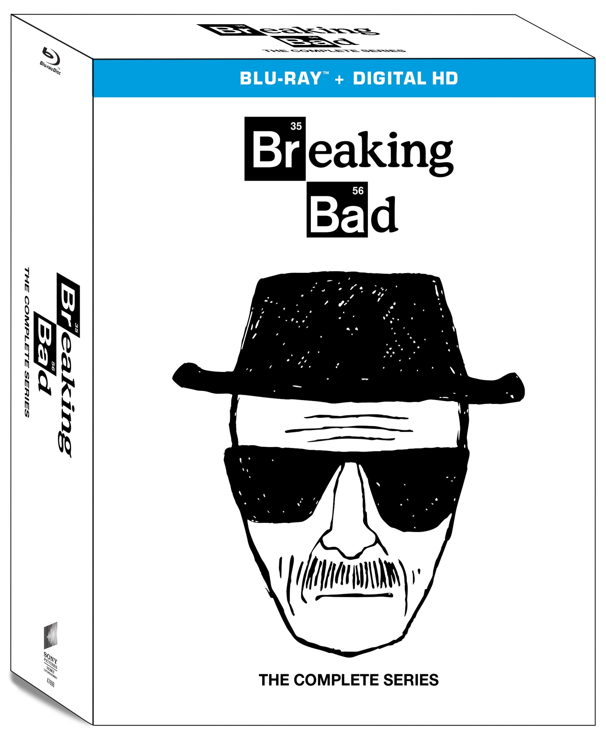 Blu-ray : Breaking Bad: The Complete Series (Boxed Set)