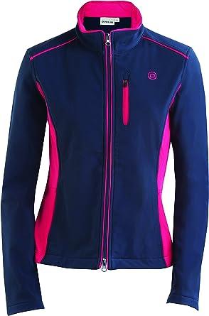 Dublin Amelia Softshell  Vest Navy//Pink  size M