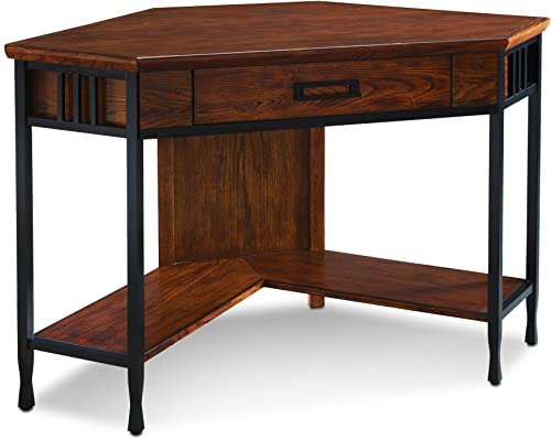 Bush Business Furniture Series C Elite 60W x 43D Left Hand Bowfront Desk Shell with 36W Return in Mocha Cherry