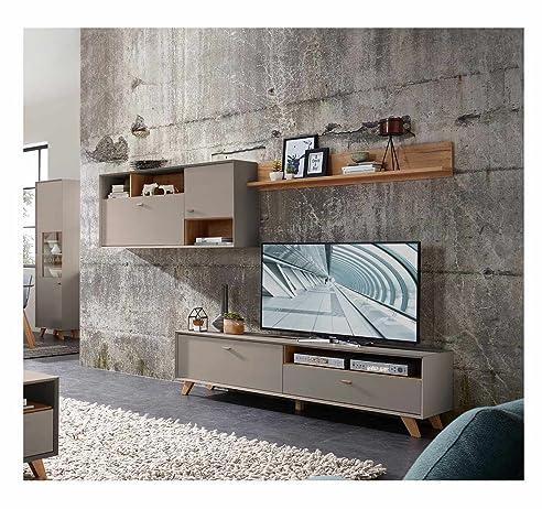 Wohnwand retro  Anbauwand, Wohnwand, Schrankwand, Fernsehwand, Wohnzimmerschrank ...