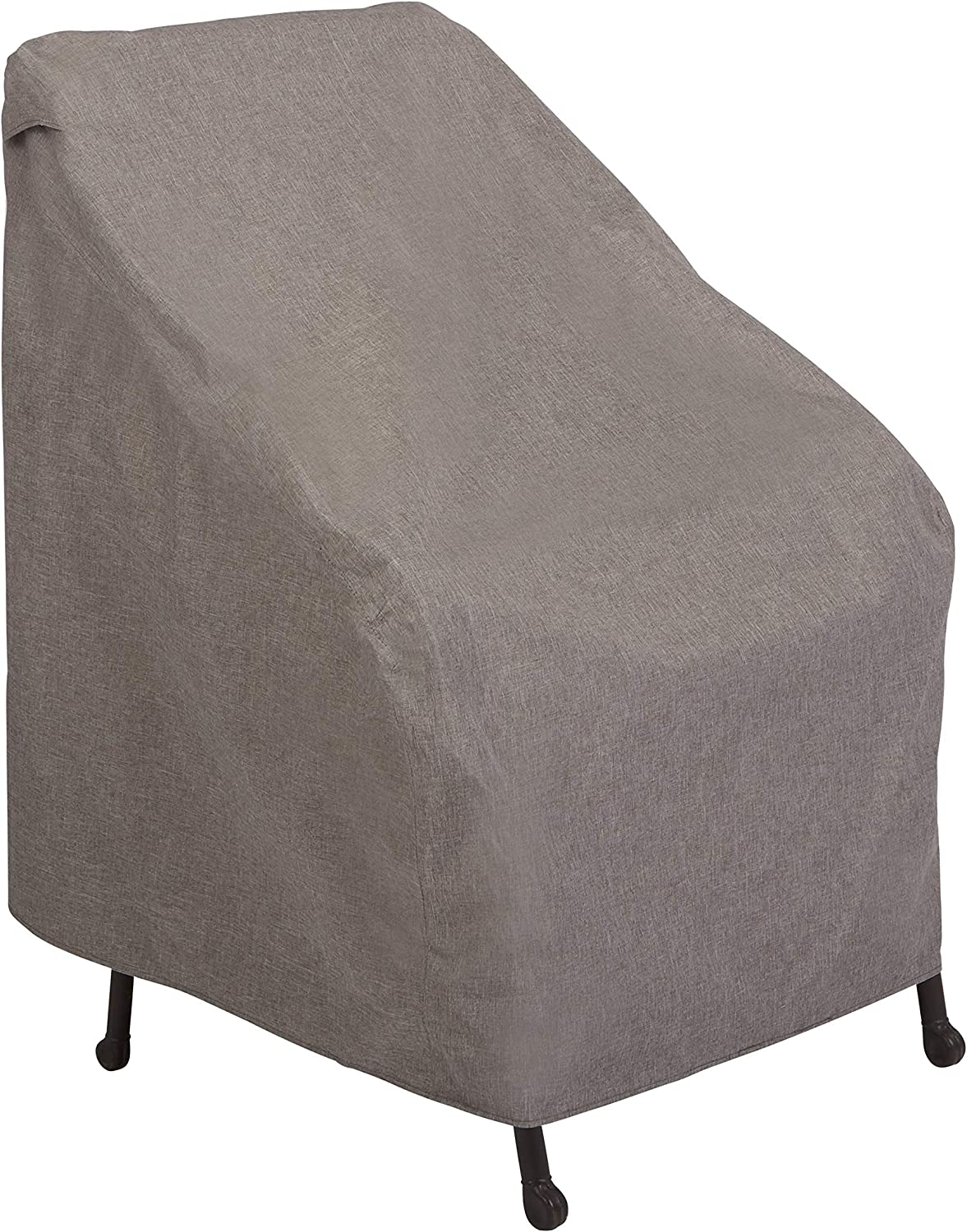 Modern Leisure Garrison Waterproof Outdoor Chair (27 W x 34 D x 31 H inches) Heather Gray, Model 3004 Patio Furniture Cover