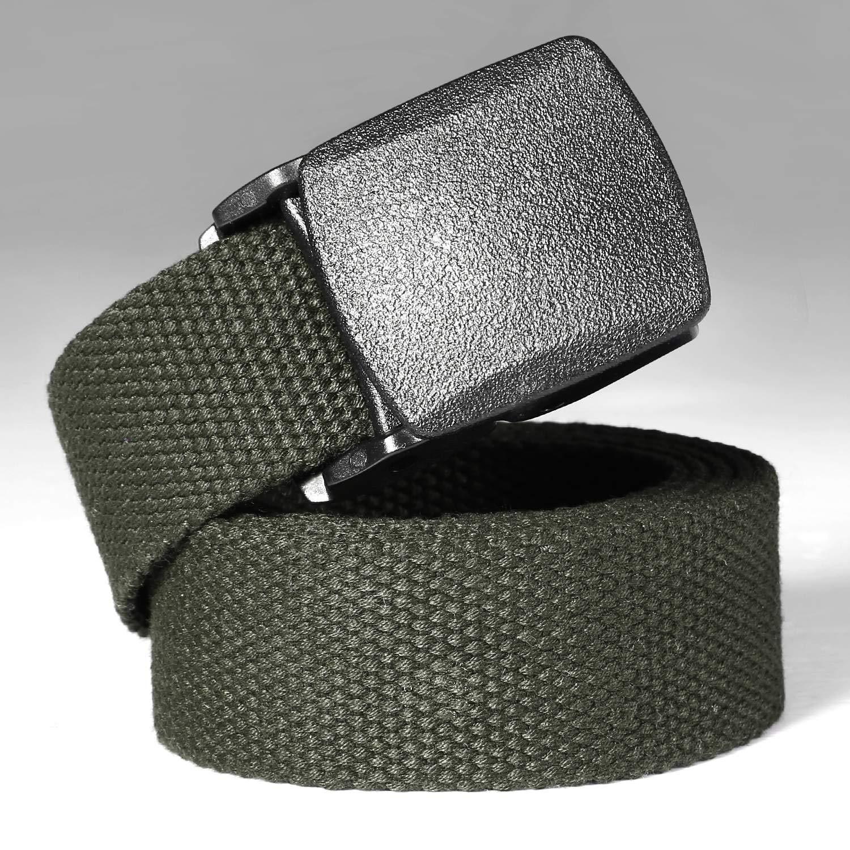 Rollone Tactical Adjustable Survival Solid Nylon Outdoor Waist Belt Belts