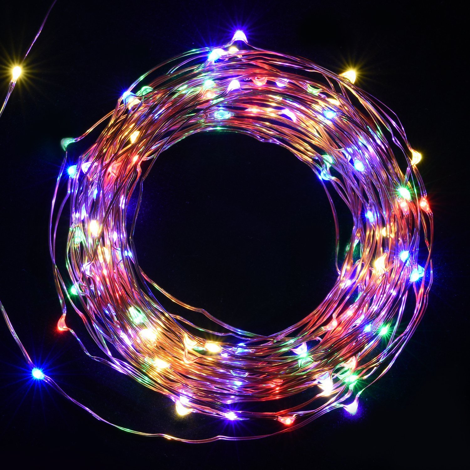 Garden FULLBELL 165 Feet 500 LED String Lights Copper Wire LED Lights Dimmable with Remote Control Waterproof Fairy Lights Outdoor for Patio Warm White Indoor and Outdoor Decorations Lawn
