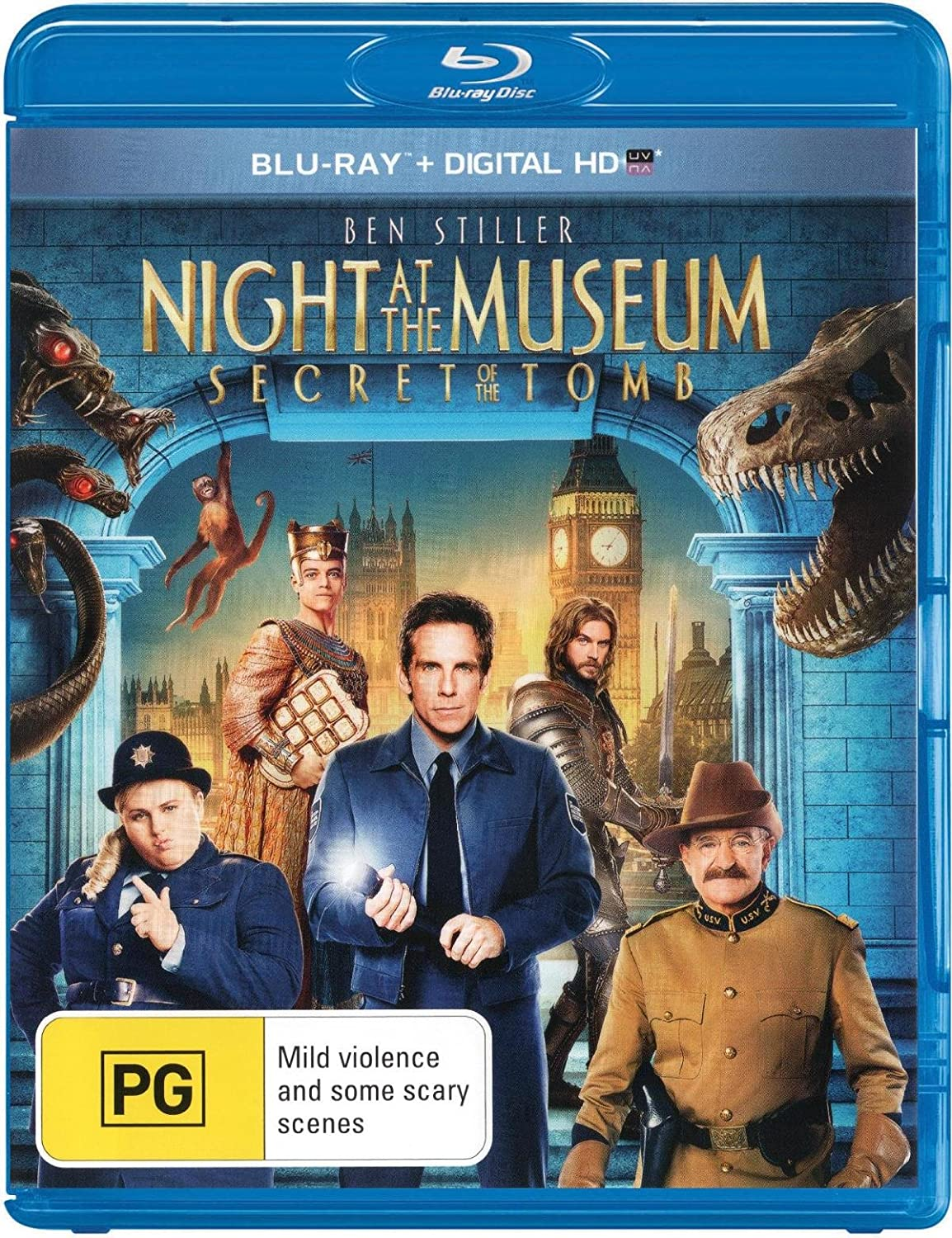 Cast of night at the museum 3