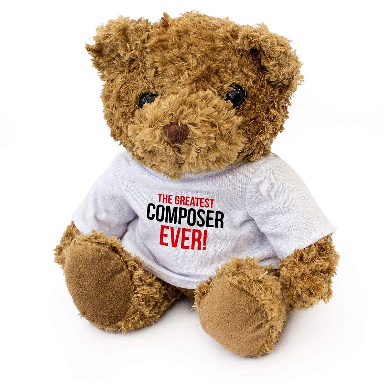 GREATEST COMPOSER EVER - Teddy Bear - Cute Soft Cuddly - Award Gift Present Birthday Xmas