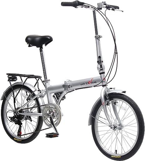 EBS Bicicleta Plegable 20 Pulgadas: Amazon.es: Deportes y aire libre