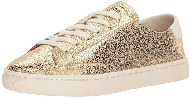 Soludos Women's Metallic Lace Up Sneaker by Soludos