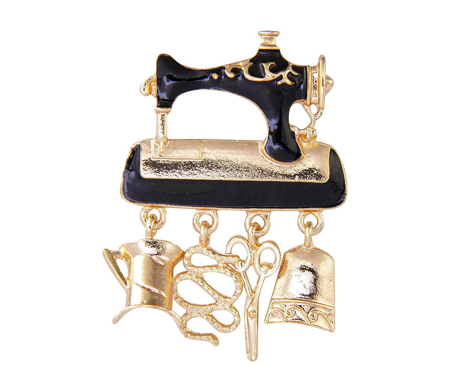 AN KINGPiiN Sewing Machine Lapel Pin Badge Gift Party Shirt Collar,Costume Pin Accessories for Men Brooch