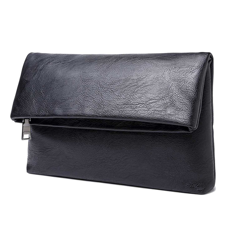 Varagan(ヴァラガン) クラッチバッグ メンズ セカンドバッグ クラッチ バッグ Black