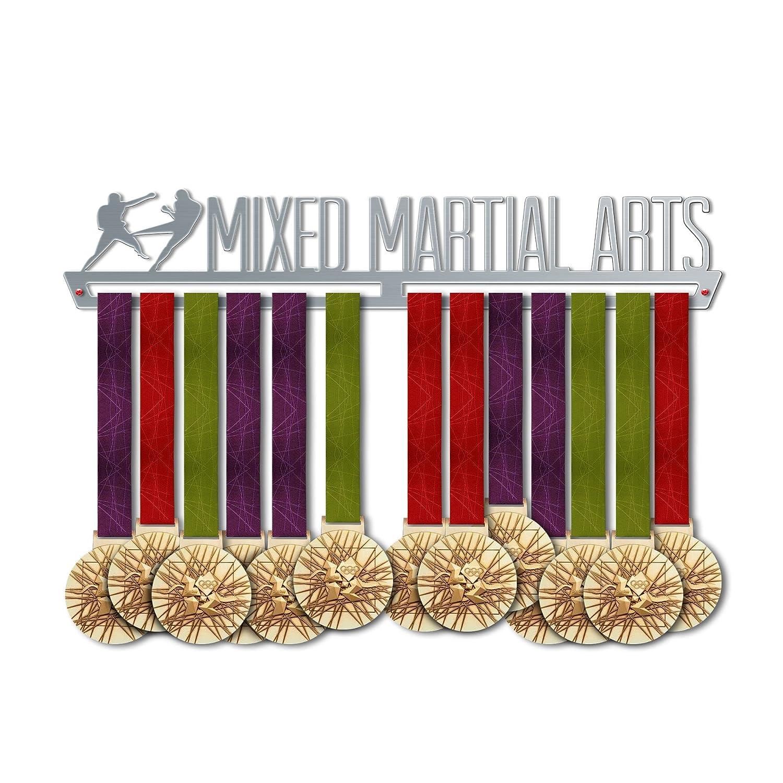 VICTORY HANGERS Soportes Para Medallas MMA MIXED MARTIAL ARTS Gancho Exhibidor de Medallas | Medallero | Elegante Expositor Para Medallas * 100% Acero Inoxidable | Percha Para Medallas | Para Los Campeones ! 1329337045