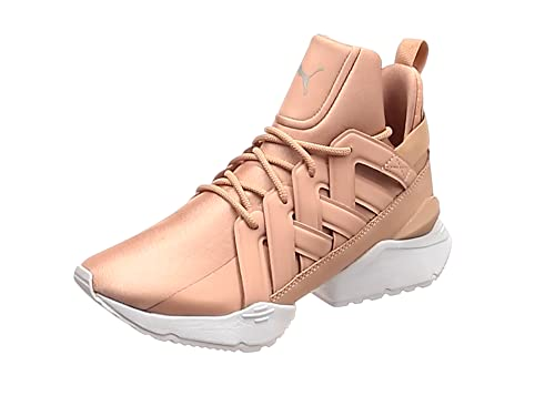 Puma Muse Echo Satin En Pointe Womens Peach Beige White