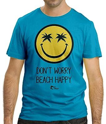 Cressi Beach It's Summer Camiseta, Hombre, Blanco, XL amazon el-beige Algodón