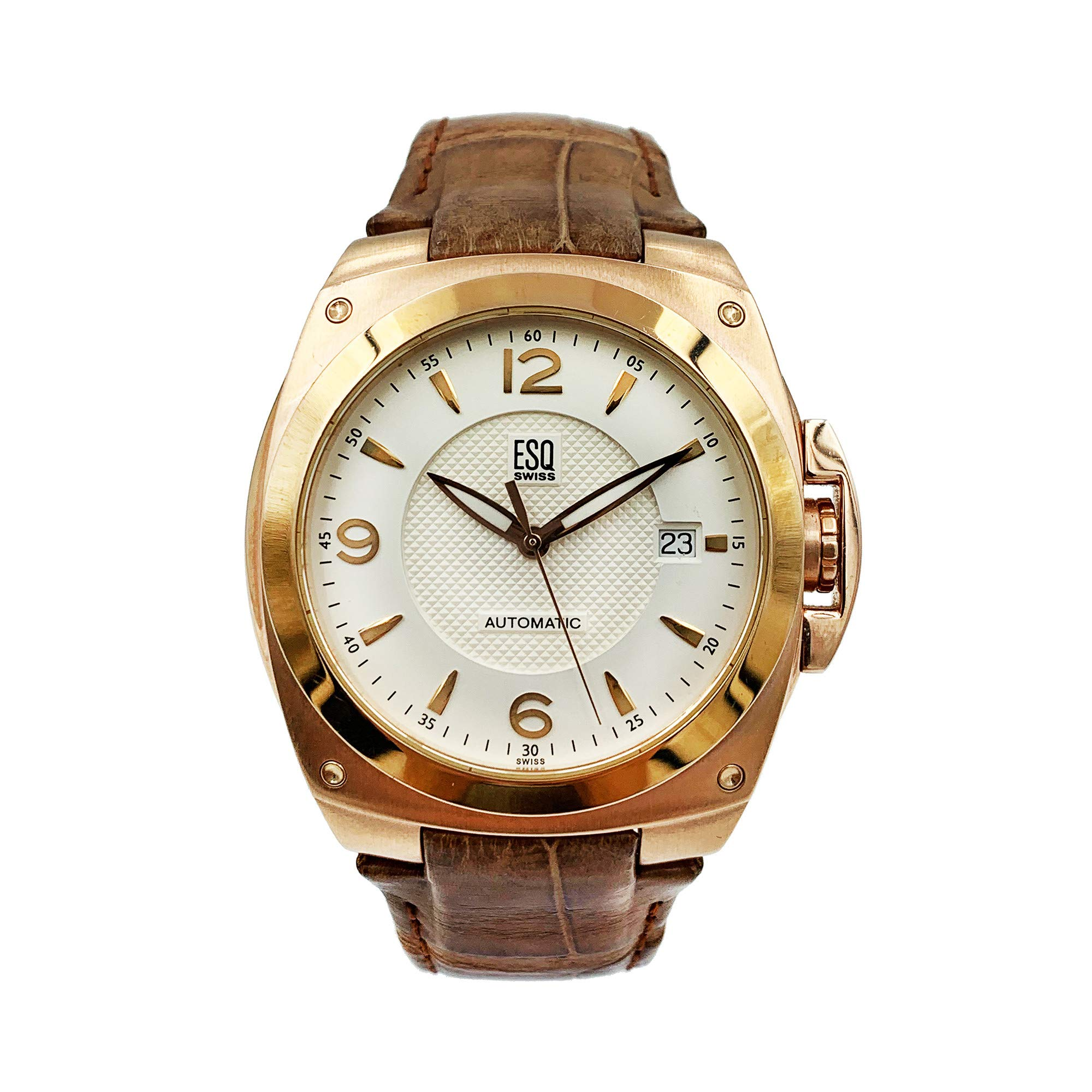 ESQ Bracer Automatic-self-Wind Male Watch 07301118 (Certified Pre-Owned) by ESQ