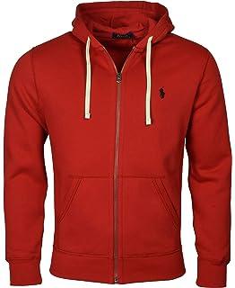80167affb Polo Ralph Lauren Classic Full-Zip Fleece Hooded Sweatshirt - XL - Holiday  Red